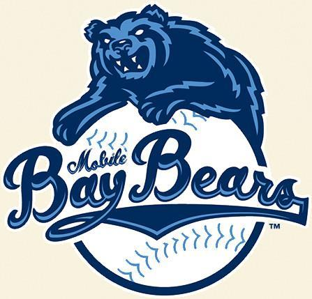 BAY BEARS BASEBALL TEAM LOGO