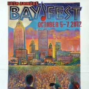 BAYWEST POSTER COLORFUL